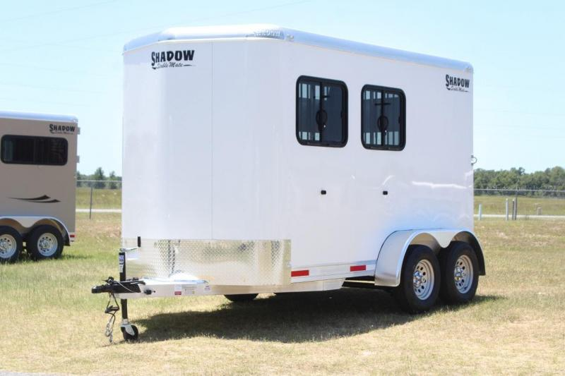 2021 Shadow Stablemate Stock Combo 2 Horse Trailer Slant Load Bumper Pull