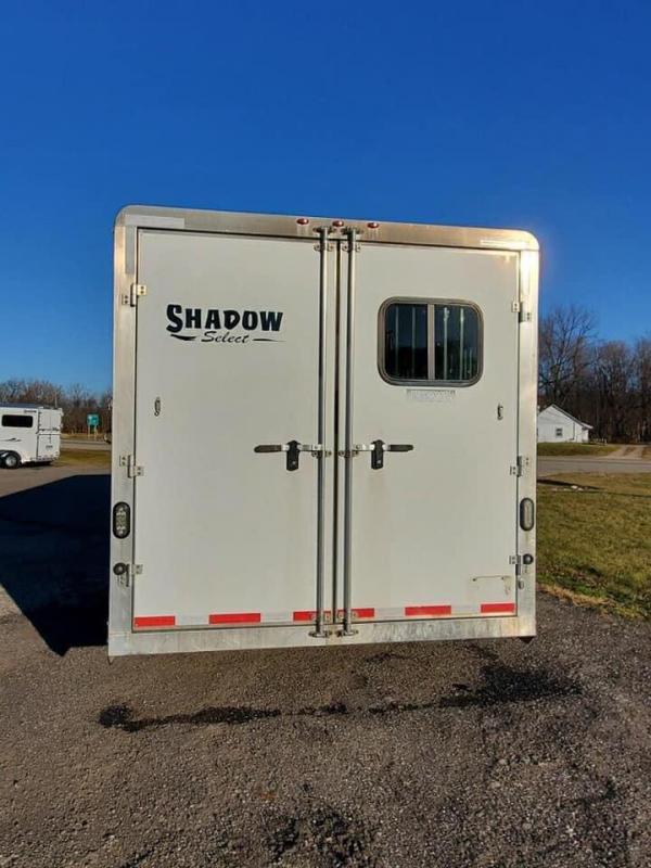2014 Shadow Trailer World Select-80276E-4SL-GN-E-106LQ Horse Trailer
