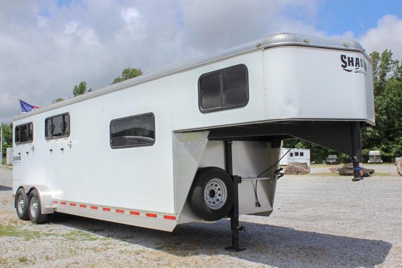 2013 Shadow Select 4 Horse Gooseneck