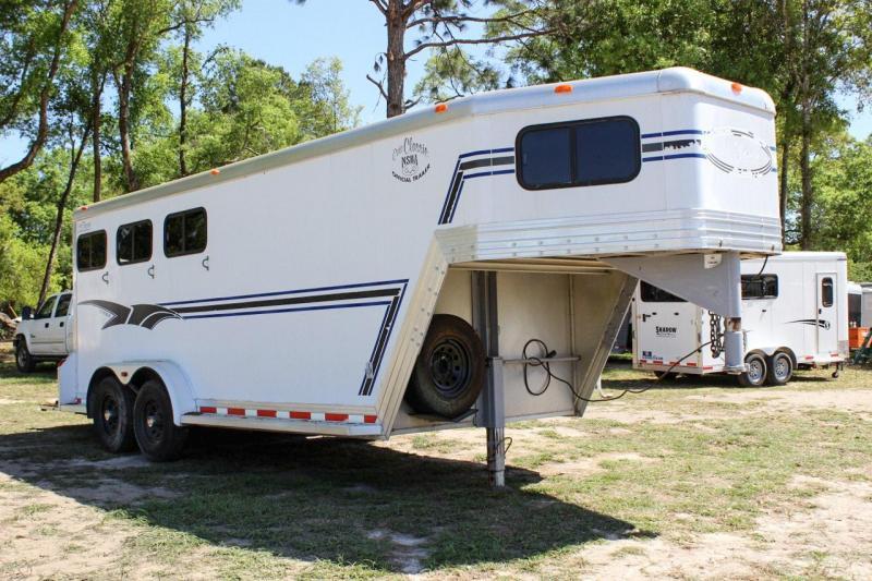 2000 Cato 3 Horse Slant Gooseneck