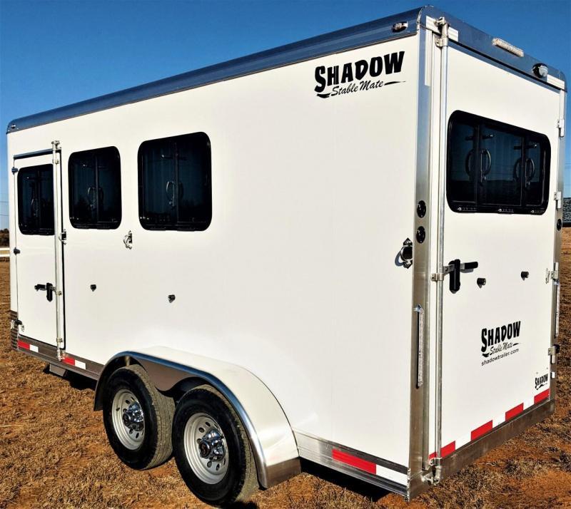 2021 Shadow Trailers 64170W-3SL-BP-E Horse Trailer