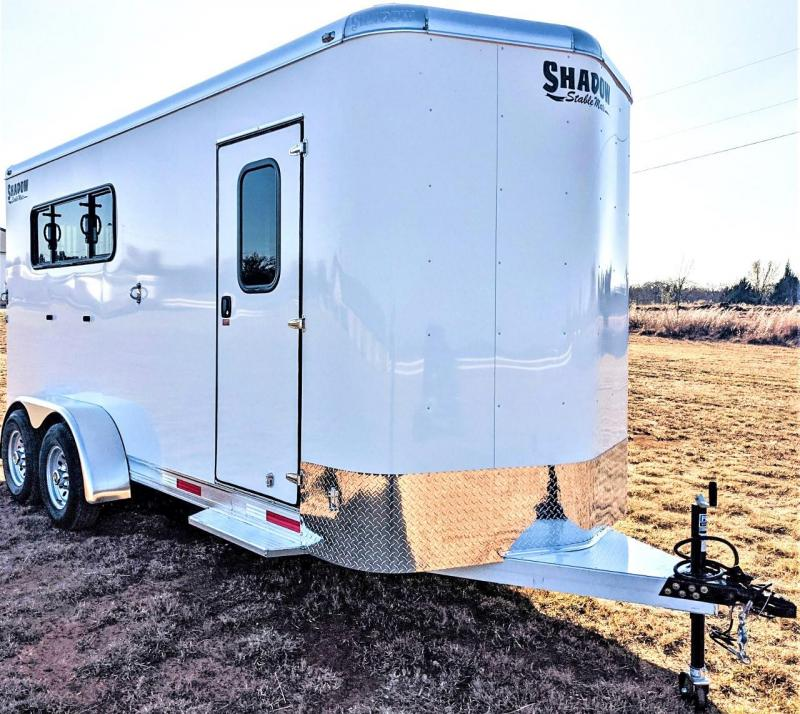 2021 Shadow Trailers 64170W-3SL-BP-E Horse Trailer