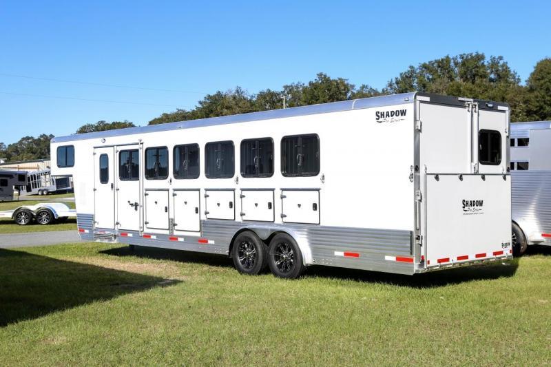 2021 Shadow PRO Series  6 Horse Slant  Load Gooseneck