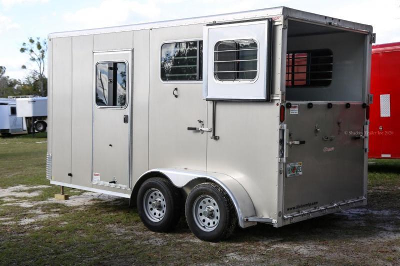 2017 KEIFER 2 Horse Straight Load Bumper Pull