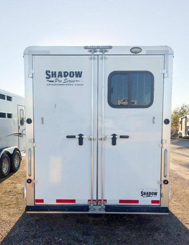 2021 Shadow Pro 3 Horse Slant Load Bumper Pull w/ Escape Door