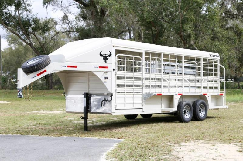 2021 Swift Built 20' Stock Trailer