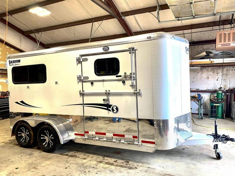 2020 Shadow Trailers 69166E-2STR-SR-BP Horse Trailer