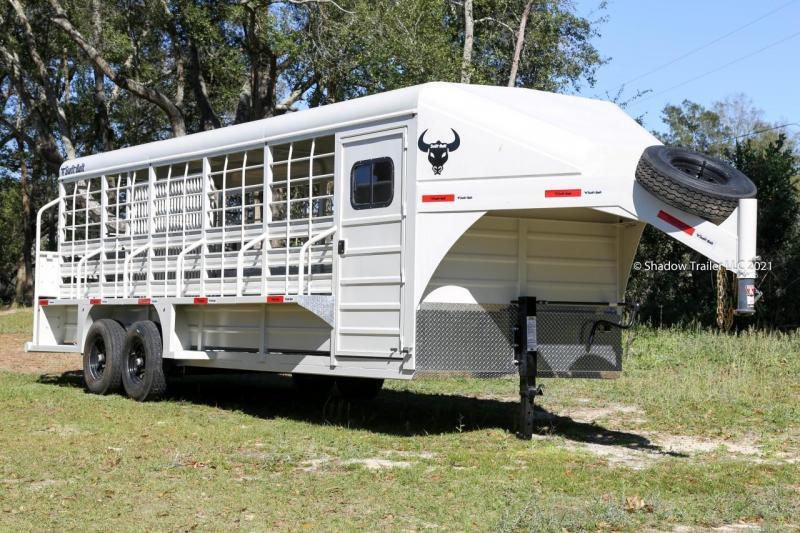2021 Swift Built 24' Stock Trailer w/ Tack Room