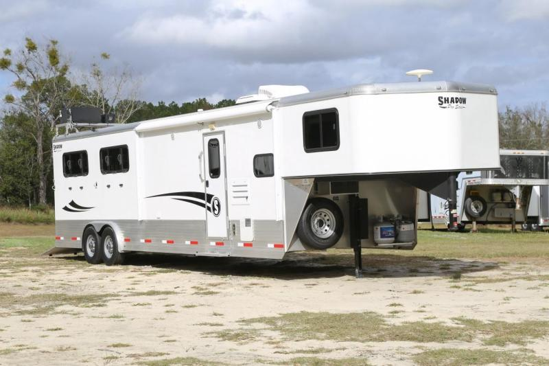 2018 Shadow Conestoga 4 Horse Slant Load Gooseneck w/ Living Quarters