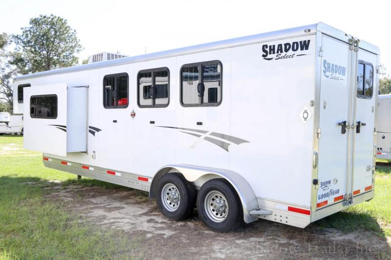 2015 Shadow 3 Horse Slant Load Gooseneck w/ Living Quarters