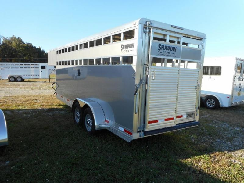 2019 Shadow Trailers 69200STK-GN Horse Trailer
