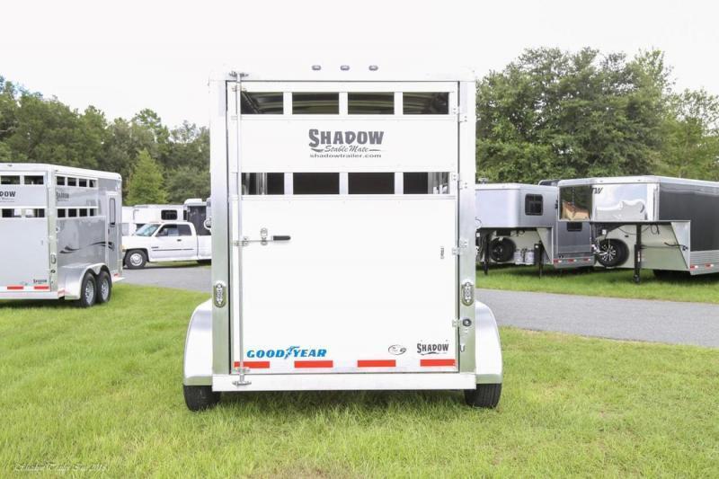 2019 Shadow Trailers 2H Slant Stock Livestock Trailer