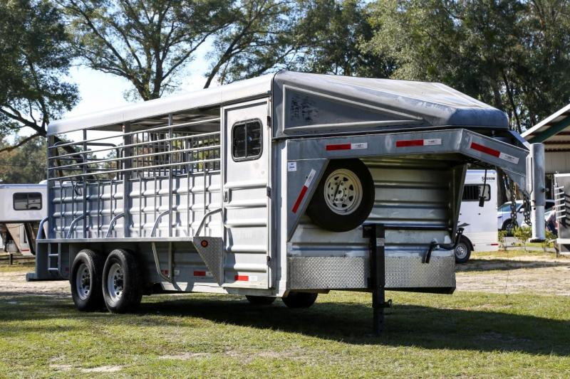 2015 LS Horse Stock Trailer