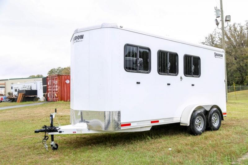 2020 Shadow Stablemate 3Horse Slant Load Bumper Pull