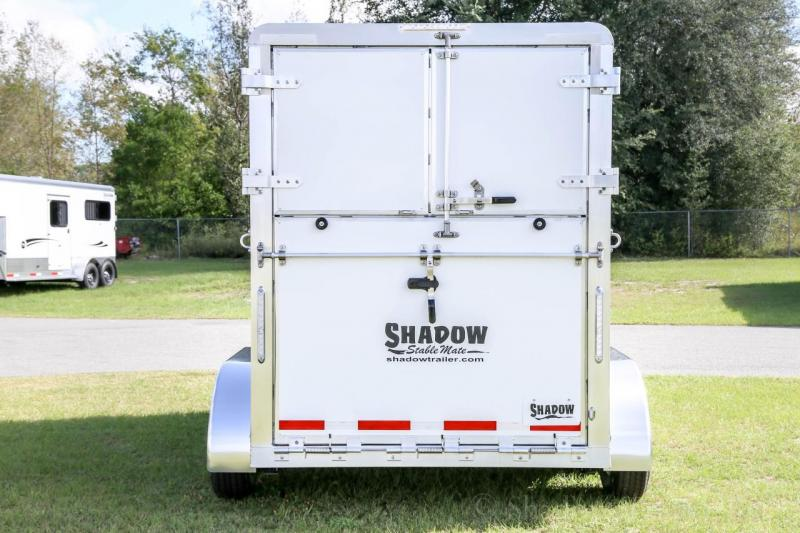 2021 Shadow Stablemate 2 Horse Straight Load Bumper Pull