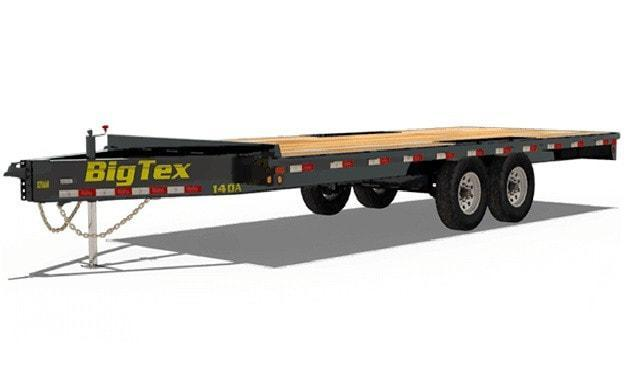 2020 Big Tex Trailers Heavy Duty Over-The Axle-BP Trailer