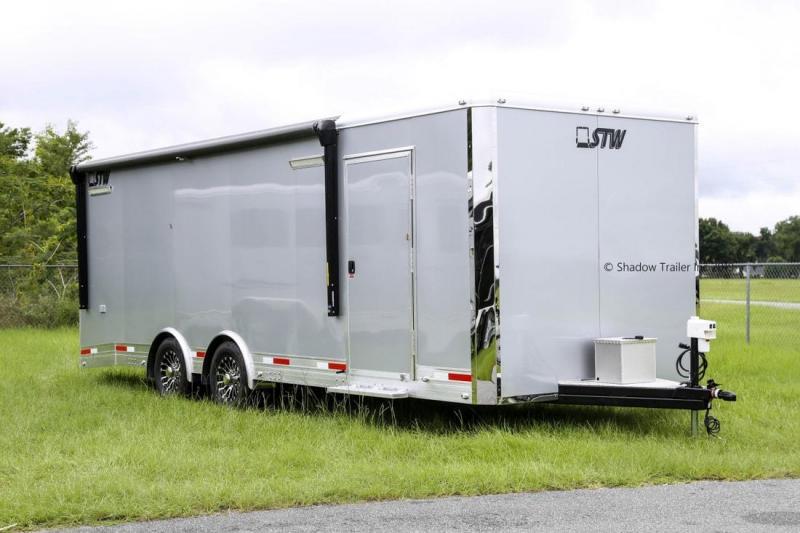 2020 STW Enclosed 24' Cargo/Toy Hauler BP 85240-90-BP-2-7 SKU ECT73589