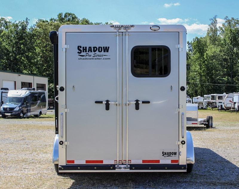 2020 Shadow PRO 3 Horse Slant Load Plus Pack Goose Neck w Escape Door