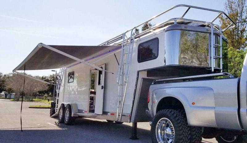 2016 Shadow Trailer World Custom Double Toy Hauler Enclosed Cargo Trailer