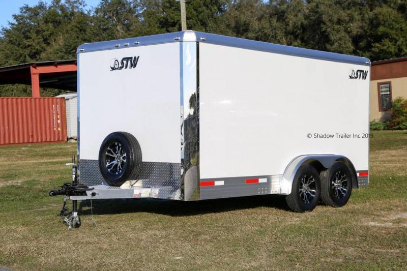 2020 STW Enclosed Cargo Bumper Pull 76140-78-BP-2-3.5