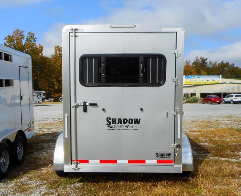 2021 Shadow Trailers 64136W-2SL-GN Horse Trailer