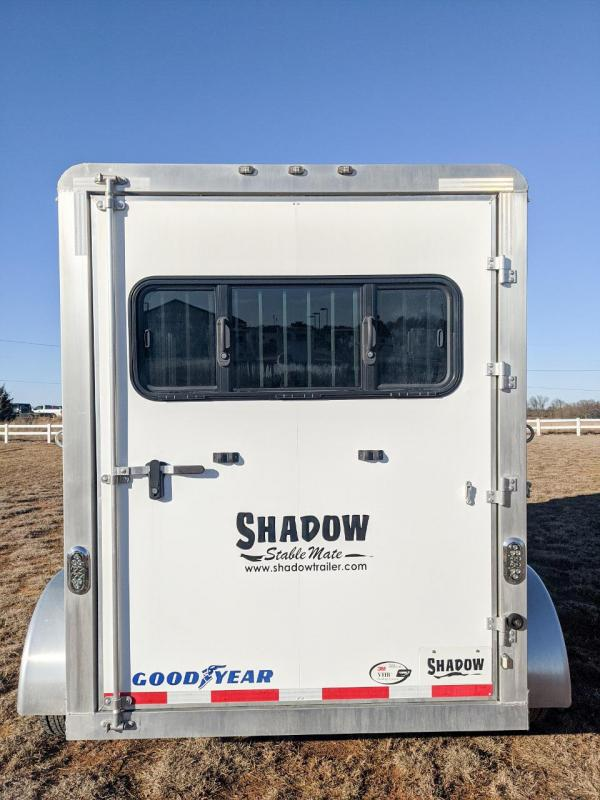 2017 Shadow Stablemate 2 Horse Slant Load Bumper Pull