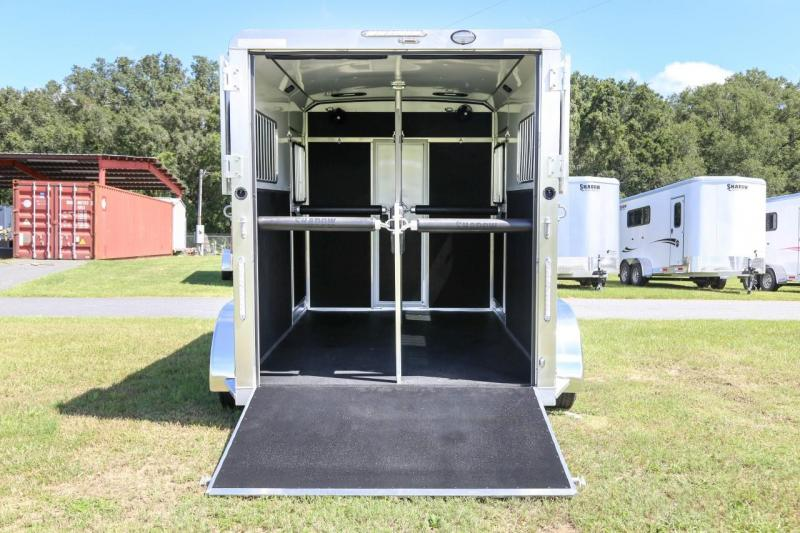 2021 Shadow PRO 2 Horse Trailer Straight Load Bumper Pull w/ Rear Ramp