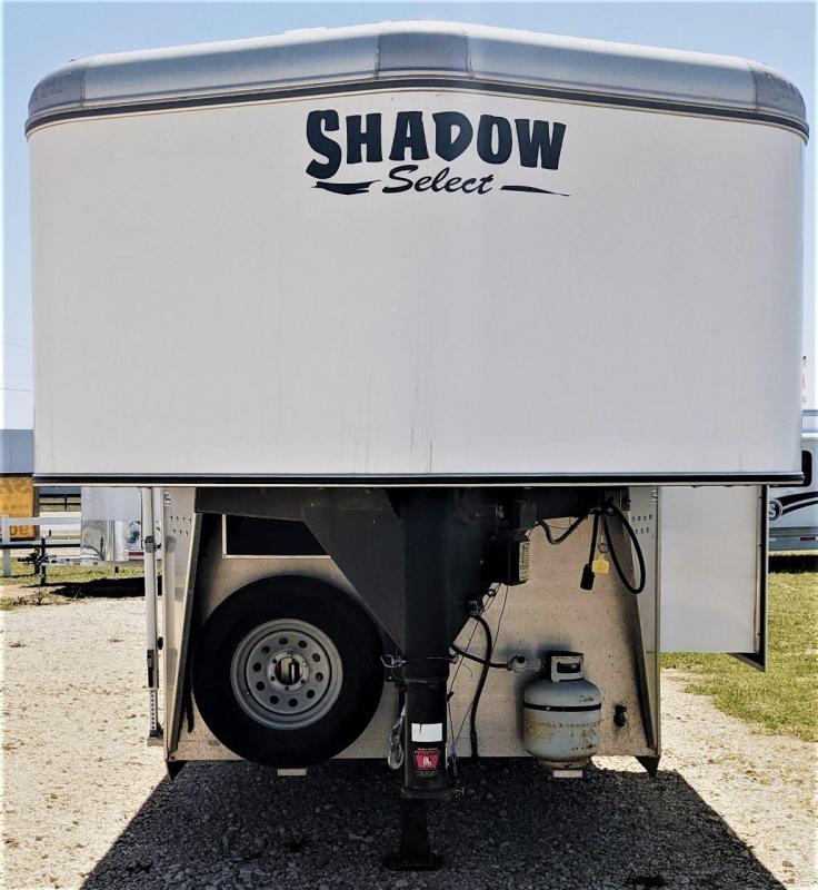 2014 Shadow Select 3 Horse Slant Load Trailer Goose Neck w/ Living Quarters