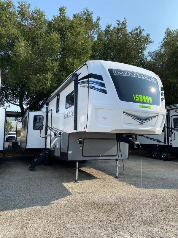 2022 Forest River Impression 270RK Fifth Wheel Campers RV