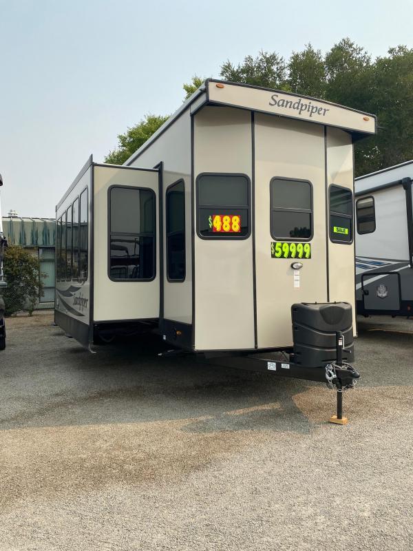 2021 Forest River Sandpiper 401FLX Destination Trailer RV