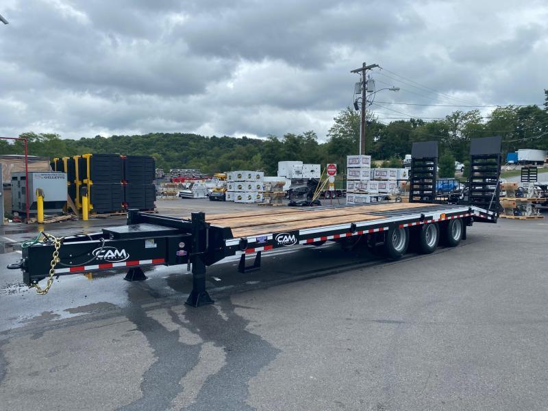 2021 Cam Superline P25CAM8245TA (25 Ton Deckover Heavy Duty Trailer 8.5 x 24) Flatbed/ Equipment Trailer