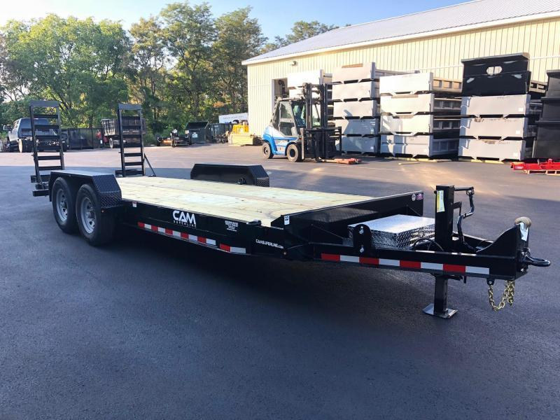 CAM 2021 6CAM20 8.5' X 20' CHANNEL FRAME EQUIPMENT HAULER