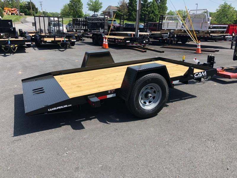CAM 2021 3 TON  6' x 12' SINGLE AXLE TILT EQUIPMENT TRAILER