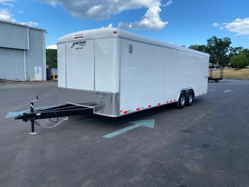 2021 Homesteader Trailers 824HT WHITE Enclosed Cargo Trailer