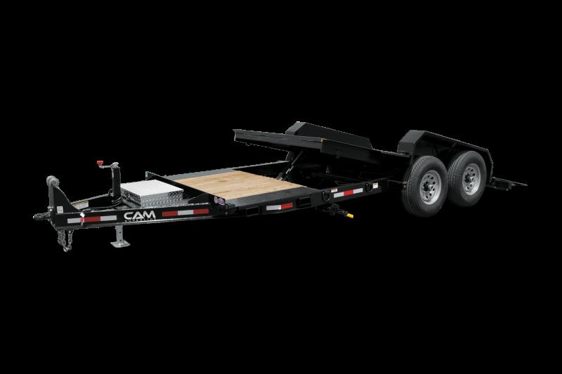 2021 Cam Superline 8CAM164STTXW Equipment Trailer