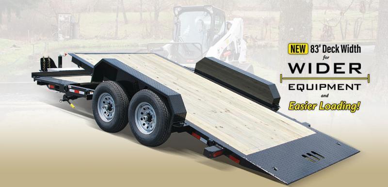 2020 Cam Superline 8.5X15+4 7CAM19STTXW Split Deck Tilt Trailer Extra Wide Equipment Trailer