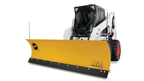 Fisher Skid-Steer Plow Snow Plow