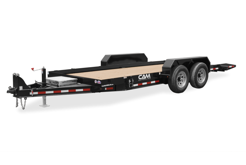 2021 Cam Superline P7CAM22FTT Equipment Trailer
