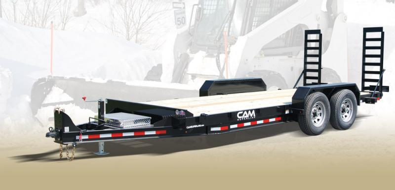 2021 Cam Superline 7CAM18C Channel Frame Equipment Trailer