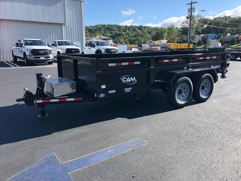 CAM 2021 7-TON 14 FT  LOW PROFILE HD DUMP TRAILER