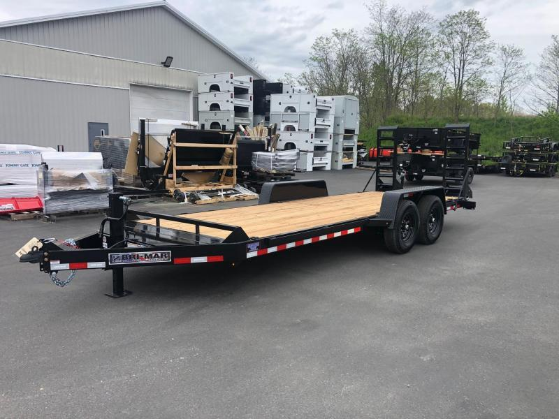 2021 Bri-Mar EH20-14-HD 6.8X20 Equipment Trailer