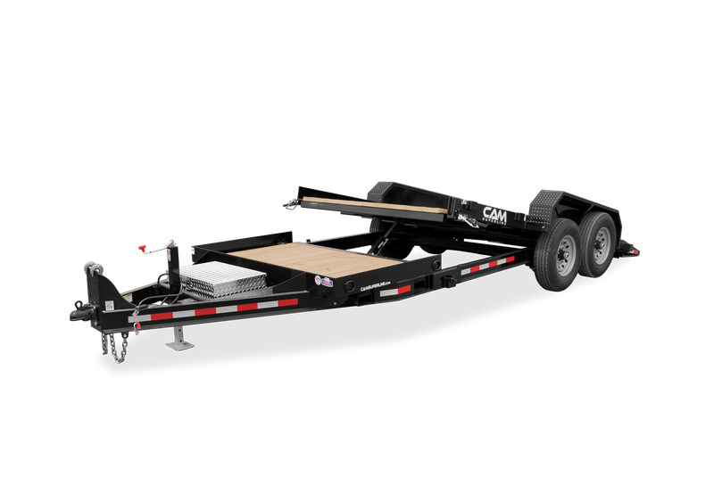 2022 Cam Superline 7 TON SPLIT DECK 8.5X16 +5 P7CAM165STT Equipment Trailer