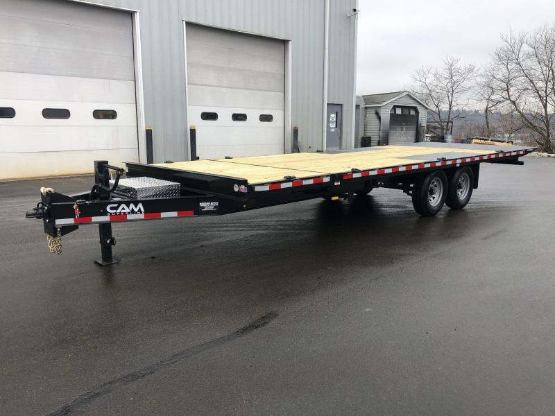 2021 Cam Superline 7CAM824DOSTT Equipment Trailer