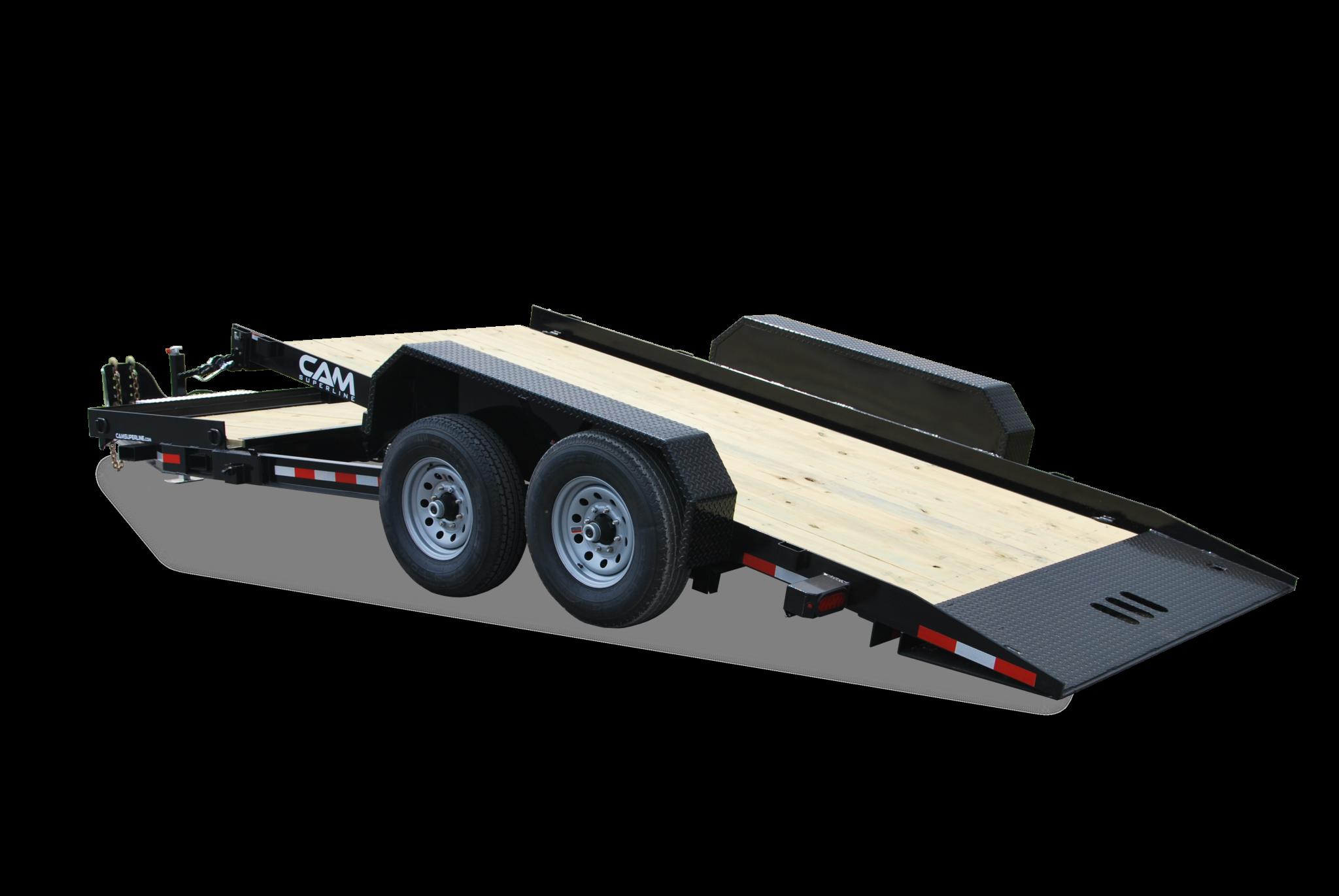 2020 Cam Superline 8CAM174STT 8.5X17+4 Equipment Trailer