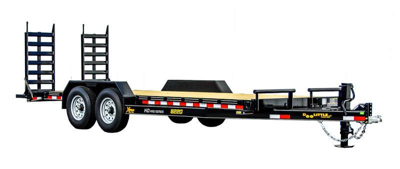 2022 Doolittle Trailer Mfg 82x22 Equipment Trailer