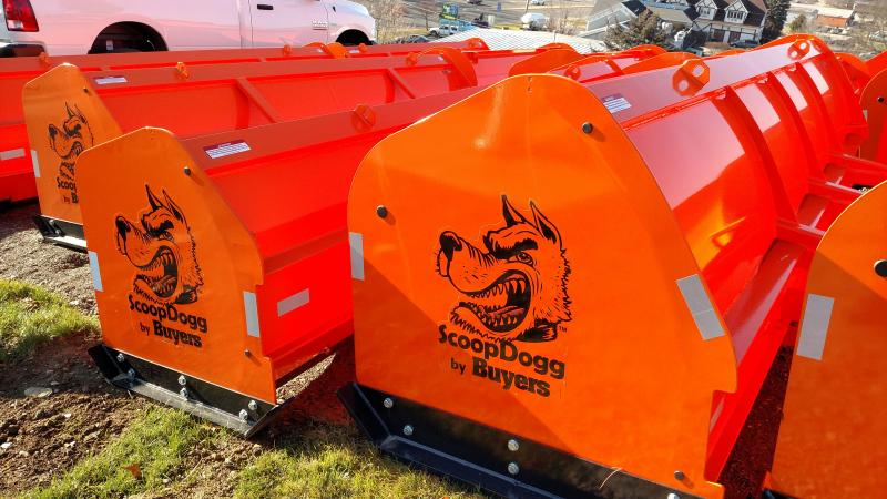 SCOOPDOGG 12' AND 14' BACKHOE SNOW PUSHERS