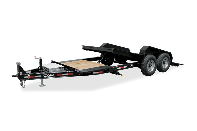 2021 Cam Superline P7CAM155STTXW Equipment Trailer