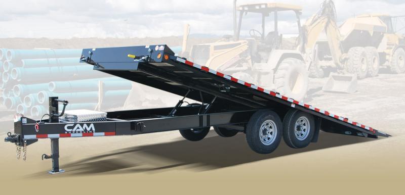 2020 Cam Superline 8.5 X20 7CAM820DOTT Deckover Full Tilt Trailer Equipment Trailer