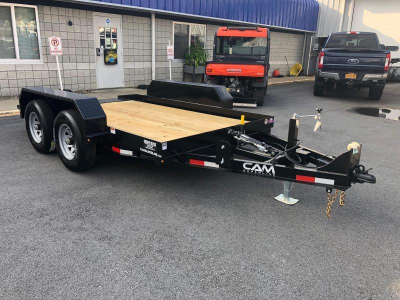 CAM 2021 5-TON 6' x 12' TANDEM AXLE TILT EQUIPMENT TRAILER