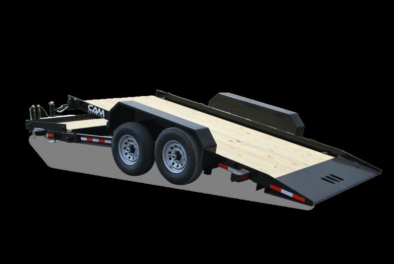CAM 2021 7-TON 8.5' X 15+4 7CAM154TT SPLIT TILT EQUIPMENT TRAILER
